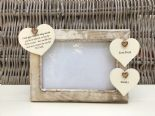 Shabby personalised Chic Photo Frame Auntie Aunty Great Aunt Any Name Etc - 253964476516